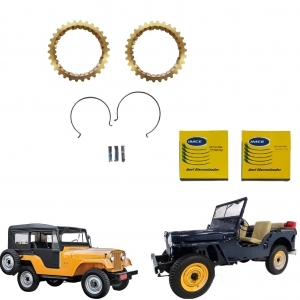 KIT ANEL SINCRONIZADOR CAMBIO SECO JEEP WILLYS 48/65