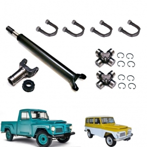 KIT CARDAM DIANTEIRO COMPLETO RURAL / F 75 FORD WILLYS