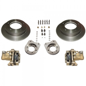 KIT DE FREIO A DISCO TRASEIRO COMPLETO JEEP / RURAL / F75 FORD WILLYS