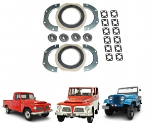 KIT DO MUNHAO JEEP / RURAL / F 75 FORD WILLYS