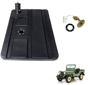 KIT TANQUE DE PLÁSTICO COMPLETO JEEP WILLYS 1948 / 1954