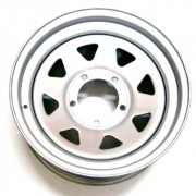RODA TRIANGULAR PRATA 15X7 FORD