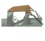 TOLDO BEGE JEEP CJ3