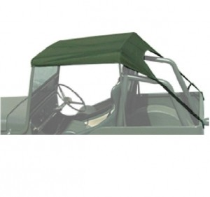 TOLDO VERDE JEEP CJ5 1955 / 1983