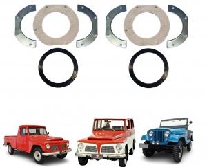 Vedador Retentor  Munhão Ford Willys  Jeep Rural F 75  Par