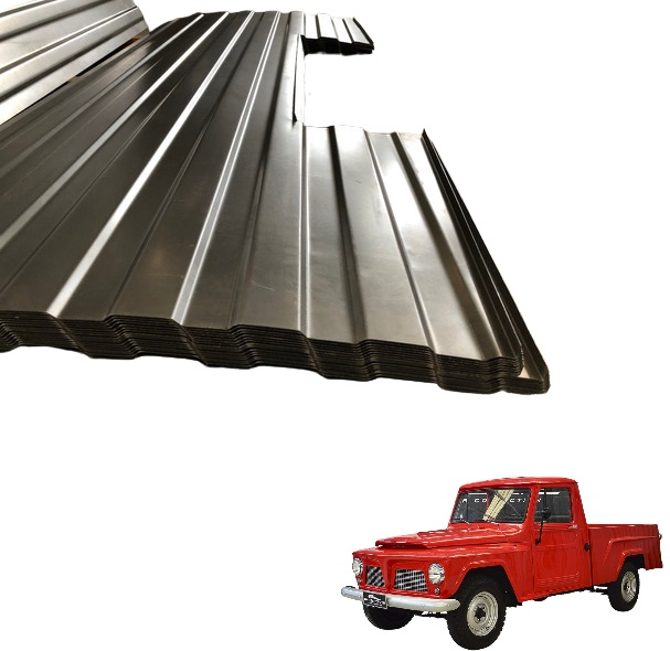 ASSOALHO TRASEIRO PICK UP F 75 FORD WILLYS