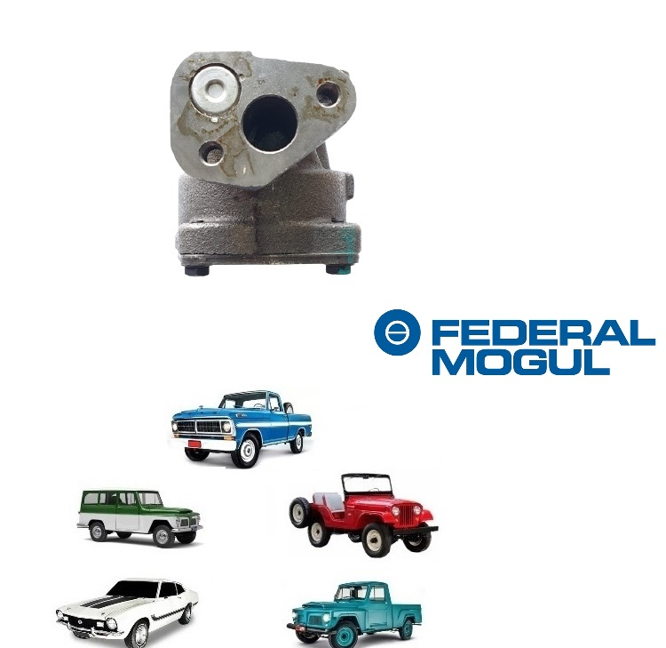 BOMBA DE ÓLEO MOTOR 4 CILINDROS OHC JEEP / RURAL / F 75 FORD WILLYS