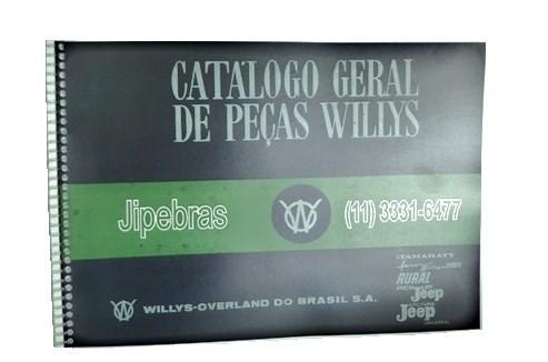 CATALOGO DE PEÇAS JEEP / RURAL / PICK UP F 75 / AERO WILLYS