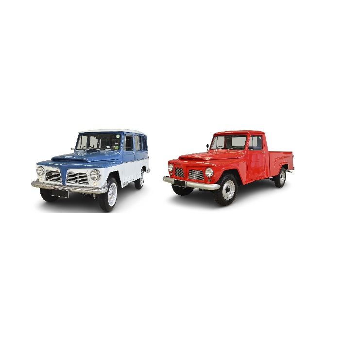 FORD / WILLYS | RURAL / F 75