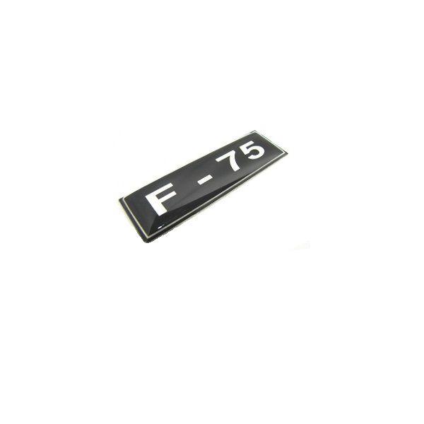 EMBLEMA LATERAL F 75