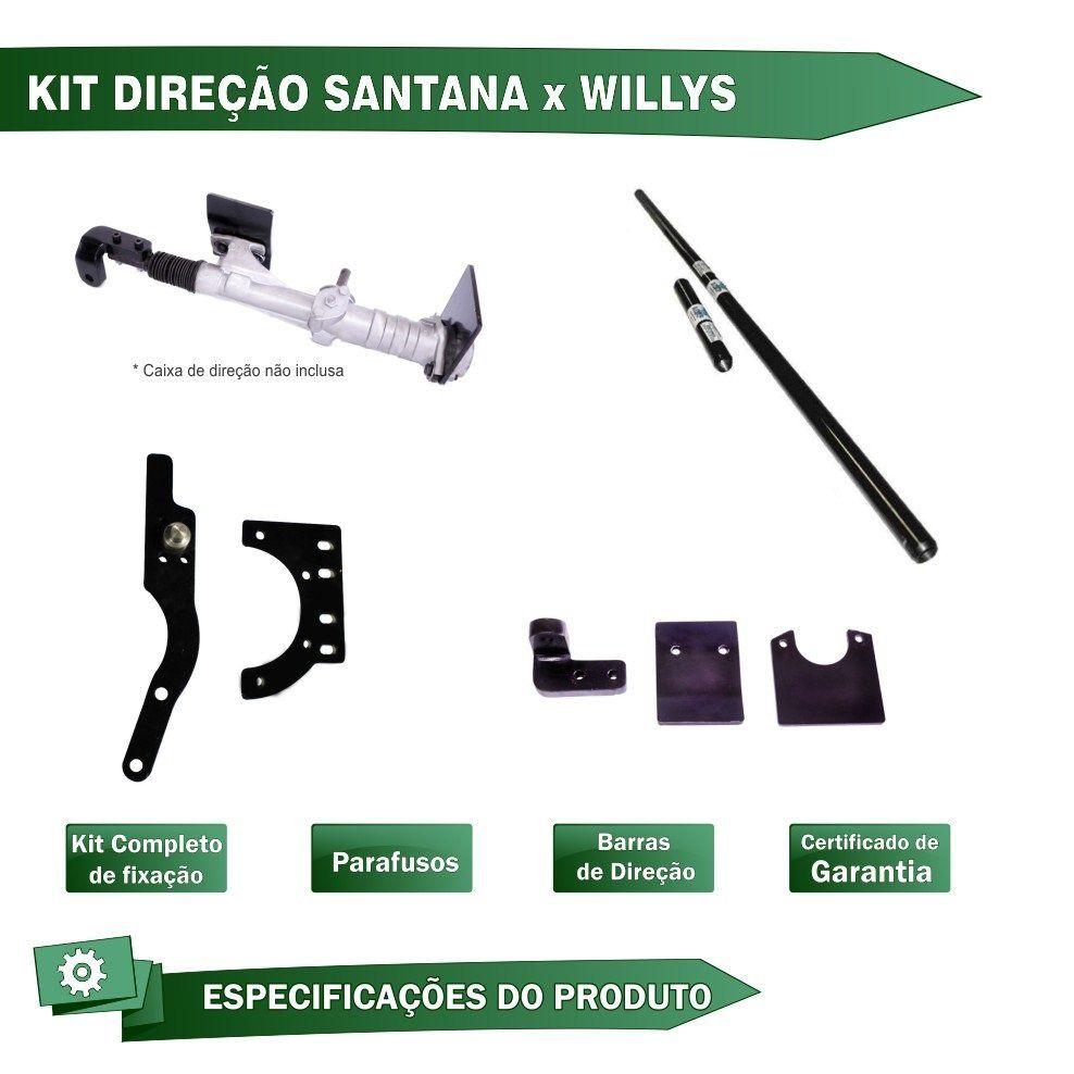 KIT DE BARRA DE DIREÇÃO JEEP CJ5