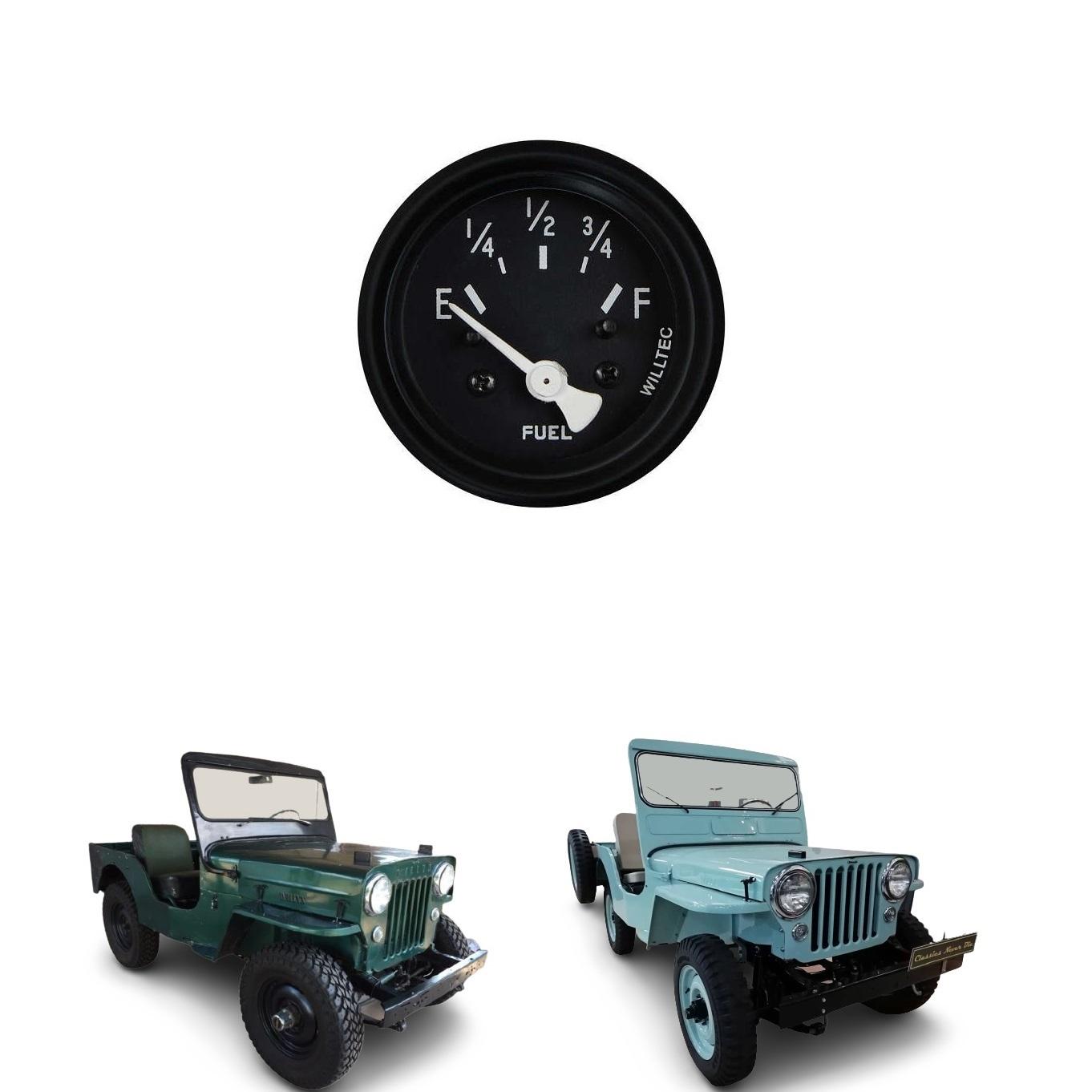 MARCADOR DE COMBUSTÍVEL JEEP WILLYS 1946 / 1954