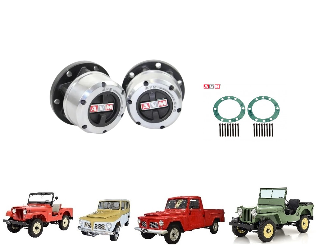 RODA LIVRE MANUAL JEEP / RURAL / F 75 FORD WILLYS