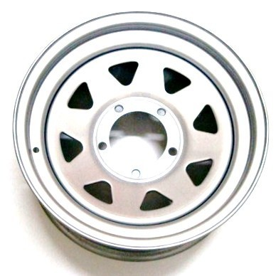 RODA TRIANGULAR PRATA 16X7 FORD