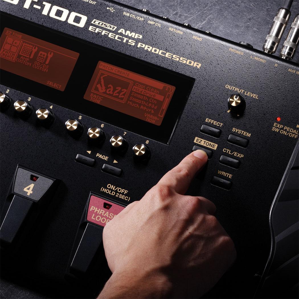 Pedaleira Para Guitarra Gt-100 Boss - ACCORDES ARTE ESTUDIO
