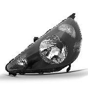 Farol Honda Fit 2003 2004 2004 2005 2006 Mascara Negra