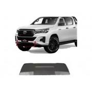Acabamento Inferior Parachoque Dianteiro Toyota Hilux SRV 2019 2020 2021