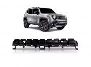 Alma Lamina Parachoque Dianteiro Jeep Renegade 2014 2015 2016 2017 2018 2019 Flex