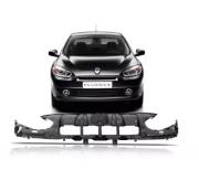 Alma Lamina Parachoque Dianteiro Renault Fluence 2011 2012 2013 2014 Superior Plástico