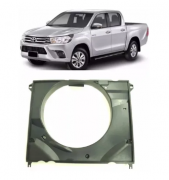 Defletor Radiador Toyota Hilux Sr Srv Srx 2016 2017 2018 2019