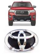 Emblema Cromado Grade Toyota Hilux Sr Srv Srx 2019