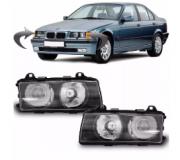 Farol Bmw Sedan Hatch Serie 3 318i 320i 325i 328i 330i 1992 1993 1994 1995 1996 1997 1998 Modelo Hella Tyc