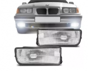 Farol De Milha Bmw Serie 3 318i 320i 325i 328i 330i 1992 1993 1994 1995 1996 1997 1998 Sedan Hatch Coupe