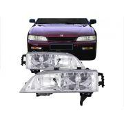 Farol Honda Accord 1994 1995 Lente Lisa Tyc Depo