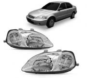 Farol Honda Civic 1999 2000