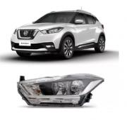 Farol Nissan Kicks 2017 2018 Sem Projetor Com Led