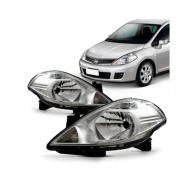 Farol Nissan Tiida 2007 2008 2009 2010 2011 2012 2013 2014