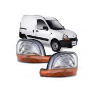 Farol Renault Kangoo 1997 1998 1999 2000 2001 2002 2003 2004 2005 2006 2007 Pisca Ambar