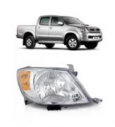 Farol Toyota Hilux Srv Sr PickUp 2005 2006 2007 2008 Pisca Ambar