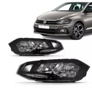Farol Volkswagen Polo Virtus 2018 2019 2020 Friso Preto