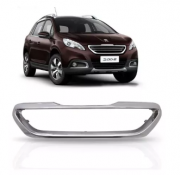 Friso Cromado Da Grade Peugeot 2008 Anos 2015 2016 2017 2018