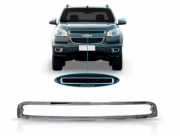 Friso Cromado da Grade Superior Chevrolet S10 2012 2013 2014 2015 2016