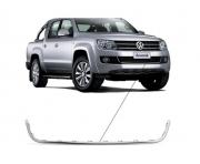 Friso Parachoque Inferior Volkswagen Amarok 2010 2011 2012 2013 2014 Cromado