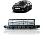 Grade Central Do Parachoque Renault Fluence 2010 2011 2012 2013