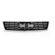 Grade Dianteira Audi A6 1997 1998 1999 2000 Com Friso Cromado
