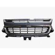 Grade Dianteira Chevrolet S10 2017 2018 2019 Com Friso Cromado