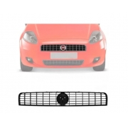 Grade Dianteira Fiat Punto 2007 2008 2009 2010 2011 Preta