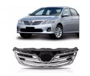 Grade Dianteira Toyota Corolla 2012 2013 2014 2015 Com Friso Cromado