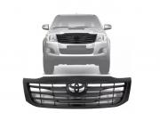 Grade Dianteira Toyota Hilux Srv 2012 2013 2014 2015 Preta Fosco