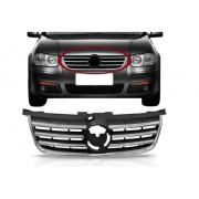 Grade Dianteira Volkswagen Bora 2008 2009 2010 Com Friso Cromado