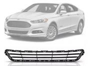Grade Do Parachoque Ford Fusion 2014 2015 2016 Central Preta Sem Frisos