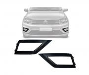 Grade Do Parachoque Lateral  Volkswagen Gol G8 2019 2020 Saveiro 2017 2018 2019 Com Furo