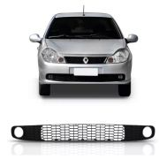 Grade Parachoque Central Renault Symbol 2009 2010 2011 2012 2013 Com Furo