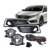 Kit Farol De Milha Honda Civic 2019 2020