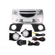 Kit Farol Milha Chevrolet Onix 2012 2013 2014 2015 2016 Ls Lt
