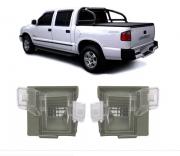 Lanterna De Placa Chevrolet S10 1995 1996 1997 1998 1999 2000
